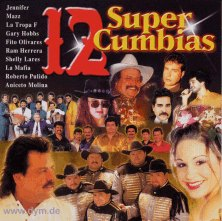 12 Super Cumbias