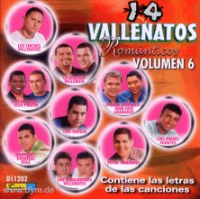 14 Vallenatos Romanticos Vol. 6