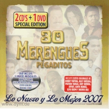 30 Merengues Pegaditos (CD + DVD