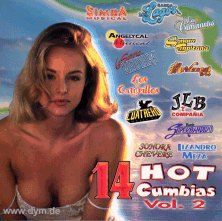 14 Hot Cumbias 2