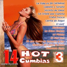 14 Hot Cumbias 3